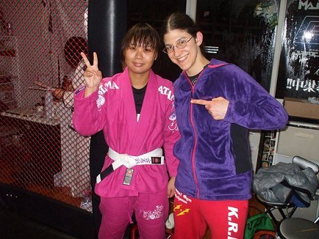 seiko and pink gi