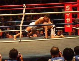 uno san vs korean kickboxer