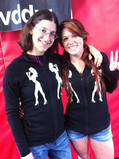 brittany and roxy fightchix jackets