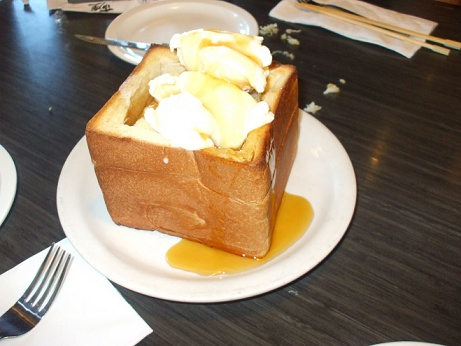 honey toast pic
