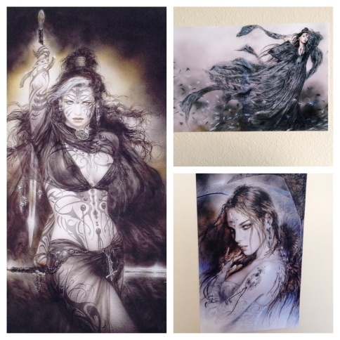 luis royo posters