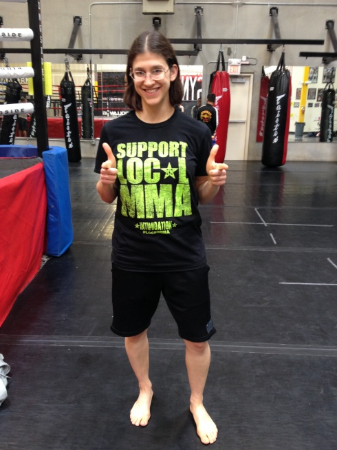 intimidation clothing support local mma