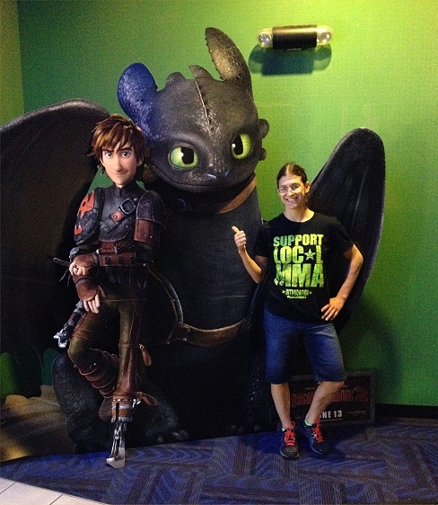 how to train your dragon pose