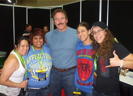 dan severn with group