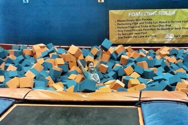 roxy in foam pit22