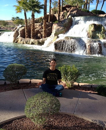 roxy waterfall at mesquite tuffnuff