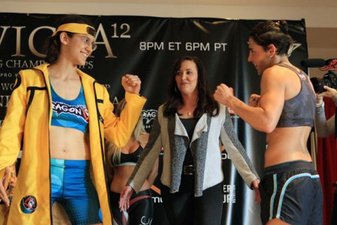 sherdog roxy weigh in 2 faceoff2