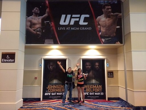 brittany at ufc doors