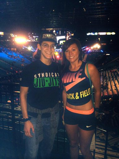 brittany at ufc nike