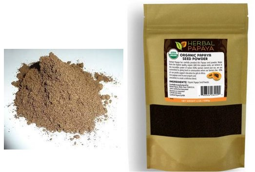 herbal papaya powder pic