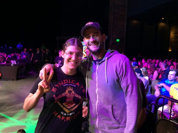 cm punk and roxy