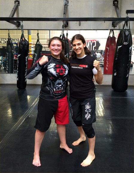 roxy amelia training pic