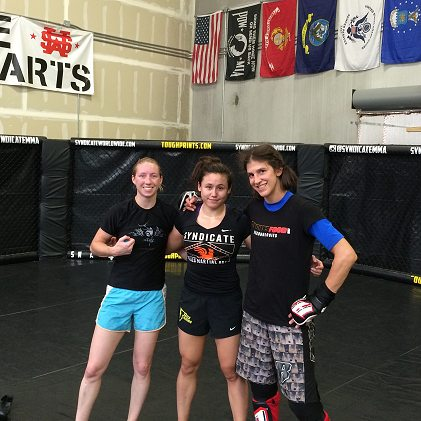 liz roxy jamie after sparring