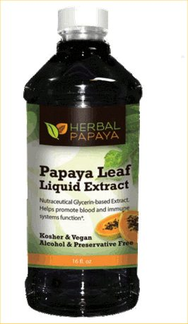 herbal papaya extract pic