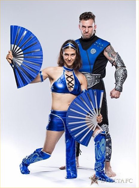 roxy and john as kitana and sub zero profile