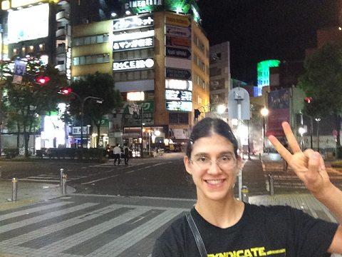 kawasaki at night first night