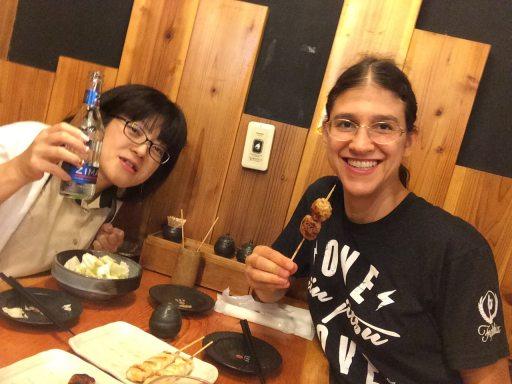 meiko at restaurant