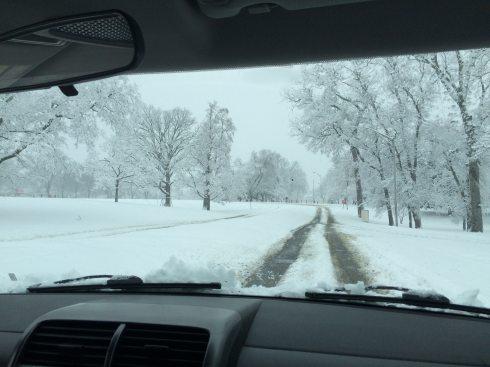 snowy car ride 1