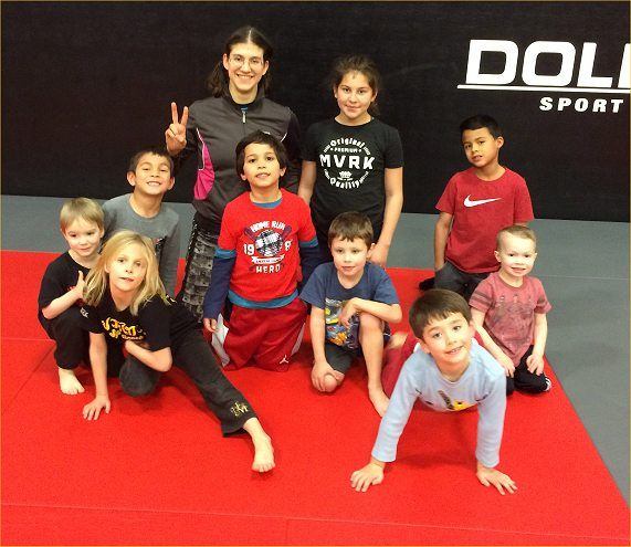 kids bjj group