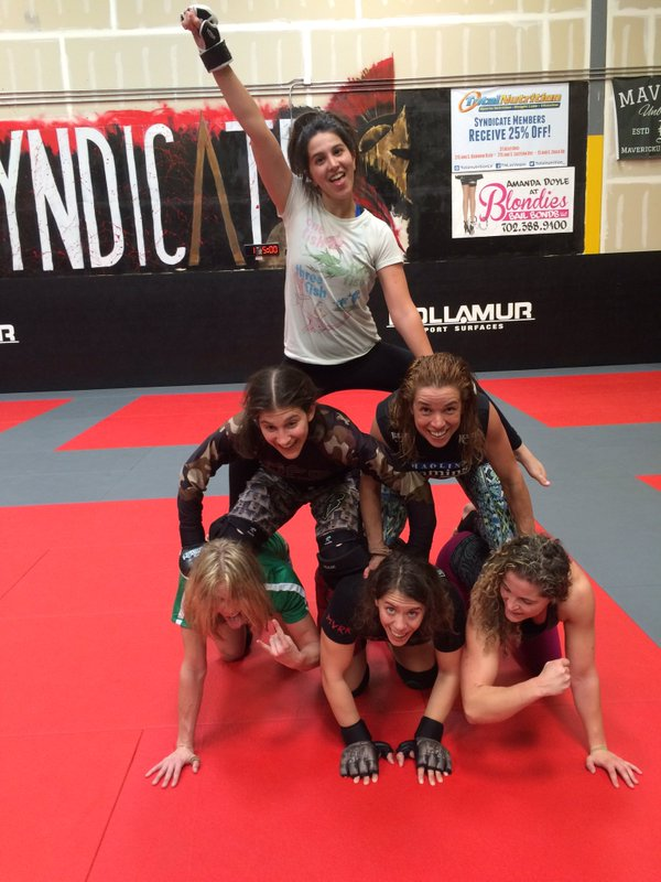 pyramid of fighter girls