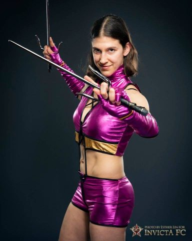 roxy as mileena 1