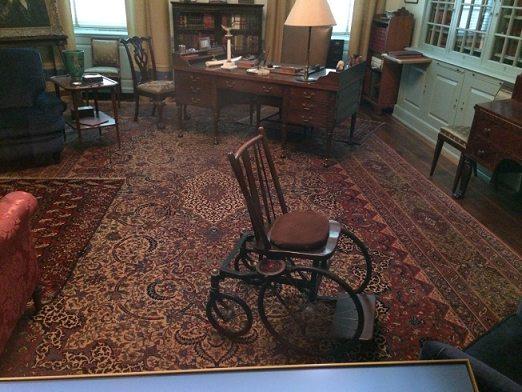 roosevelt's wheelchair