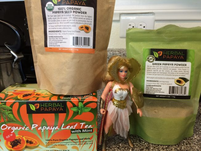 she ra and herbal papaya