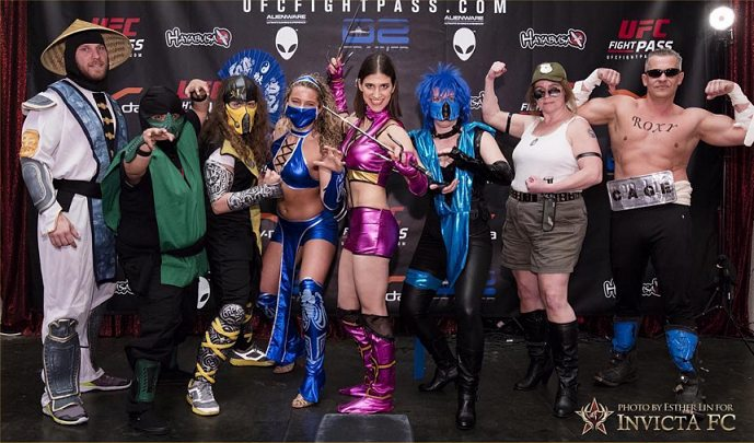 invicta 16 weigh in mortal kombat group
