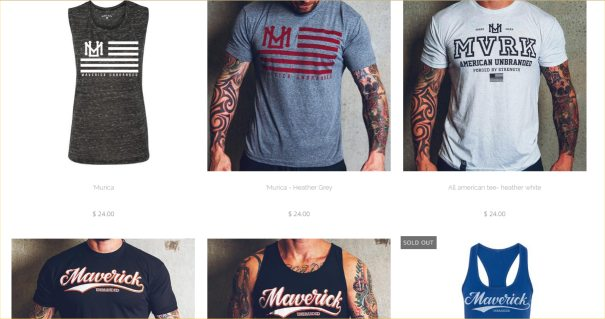 maverick shirts