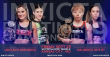 Invicta FC Title Shots promotional poster