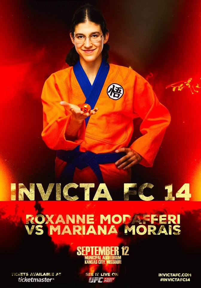 See Roxanne fight in Invicta FC 14